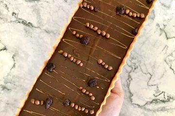 טארט שוקולד מהיר וללא אפייה | צילום: ספיר דהן
