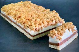 עוגת דקואז לוז ומוס פרלינה | צילום: ספיר דהן
