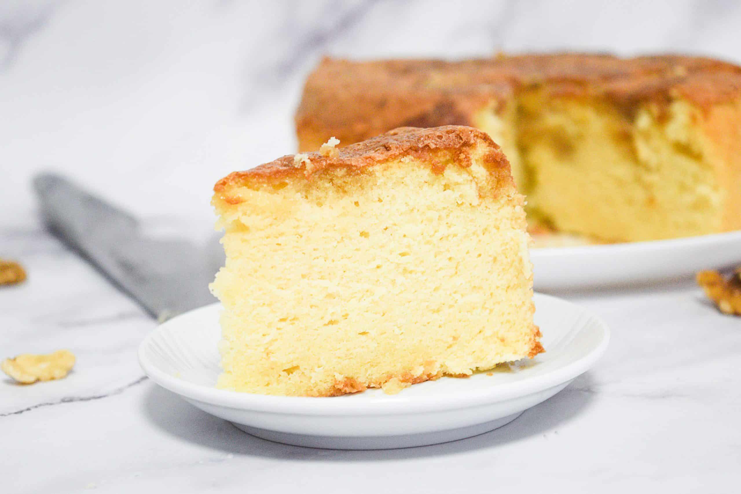 עוגת מייפל ושקדים   צילום: ספיר דהן