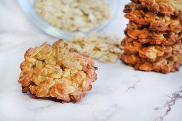 עוגיות שיבולת שועל ושקדים ב-5 דקות | צילום: ספיר דהן