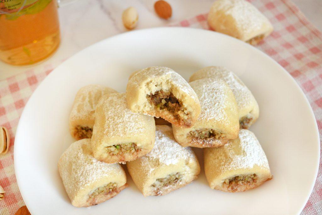 עוגיות רול פיצוחים   צילום: ספיר דהן
