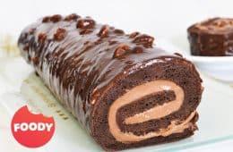 רולדת שוקולד ואגוזי לוז | צילום: ספיר דהן
