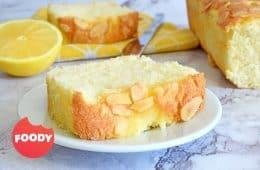 עוגת טורט לימון ושקדים | צילום: ספיר דהן