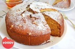 עוגת טורט דבש ואגוזי מלך   צילום: ספיר דהן