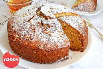 עוגת טורט דבש ואגוזי מלך | צילום: ספיר דהן