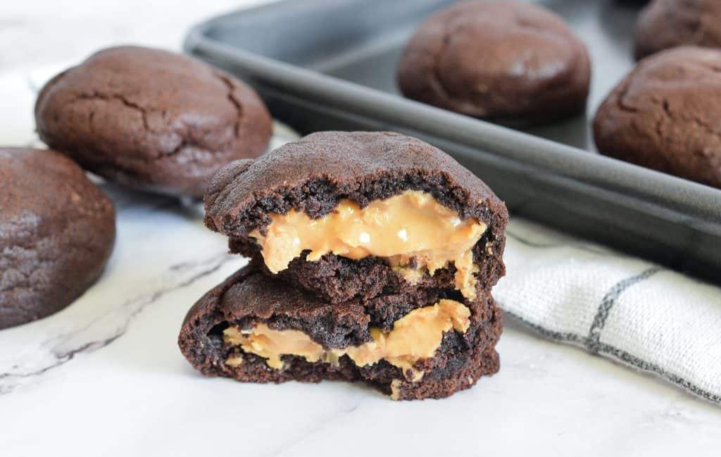 עוגיות בראוניז וחמאת בוטנים מושלמות | צילום: ספיר דהן