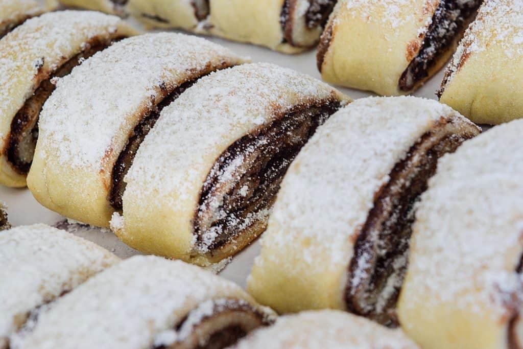 עוגיות מגולגלות במילוי נוטלה | צילום: ספיר דהן