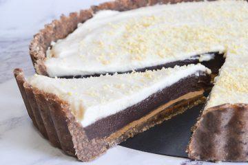 פאי שוקולד וחמאת בוטנים | צילום: ספיר דהן