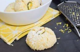 עוגיות לימון וקוקוס | צילום: ספיר דהן