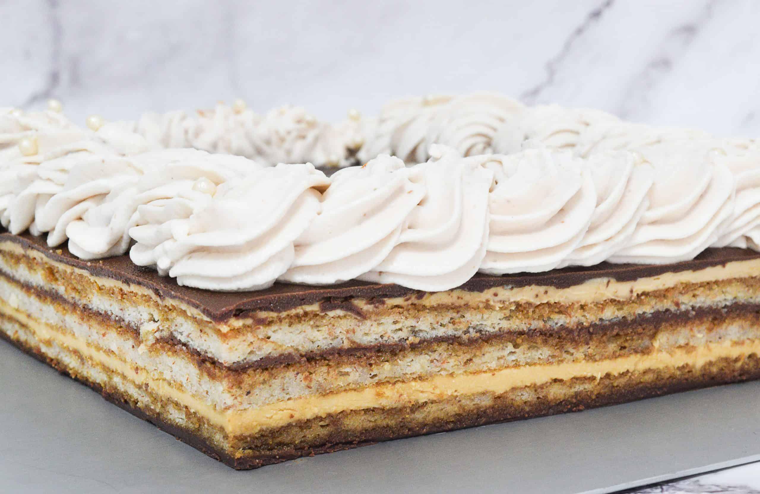 עוגת אופרה צרפתית   צילום: ספיר דהן