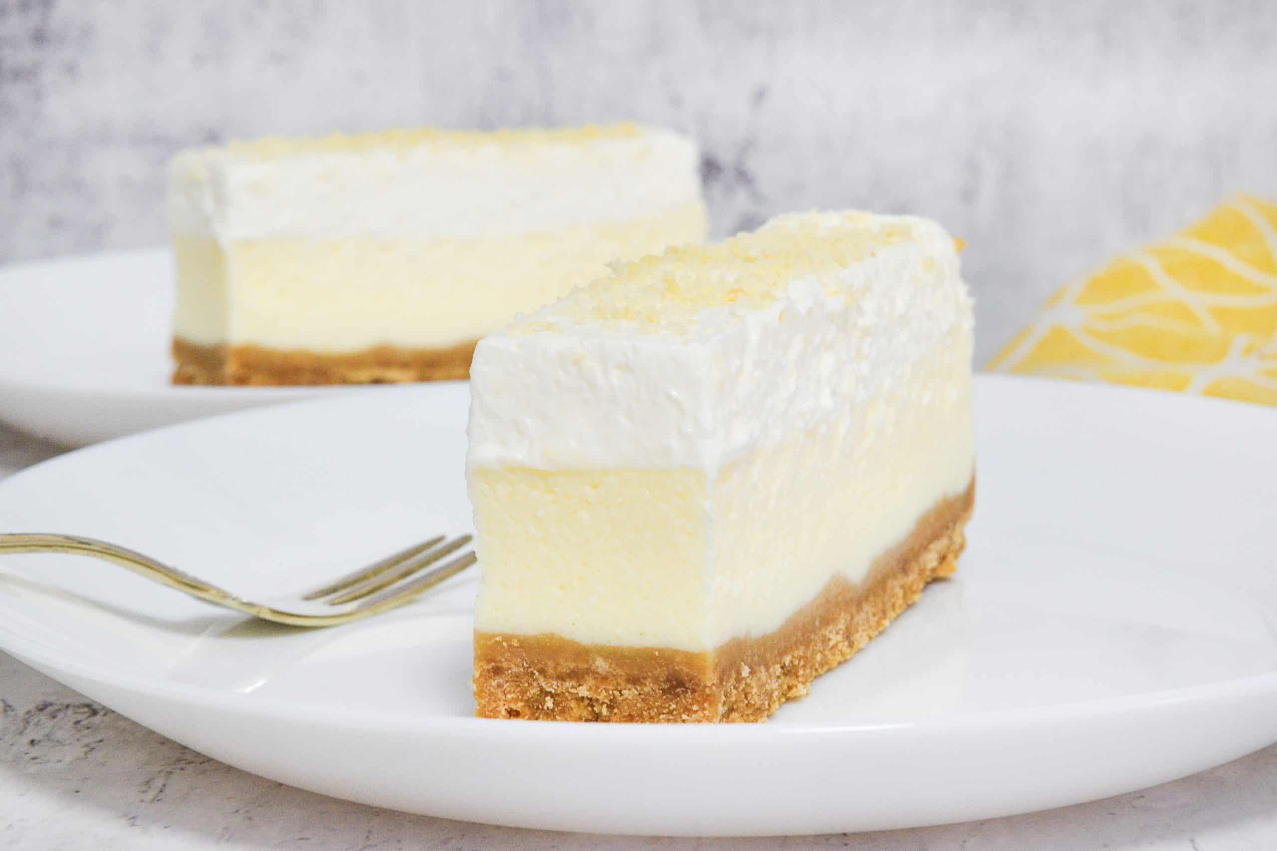 עוגת גבינה 3 שכבות   צילום: ספיר דהן