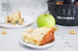 עוגת תפוחים וקינמון   צילום: ספיר דהן