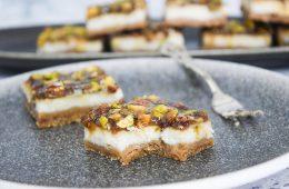 חיתוכיות גבינה ופיסטוק | צילום: ספיר דהן