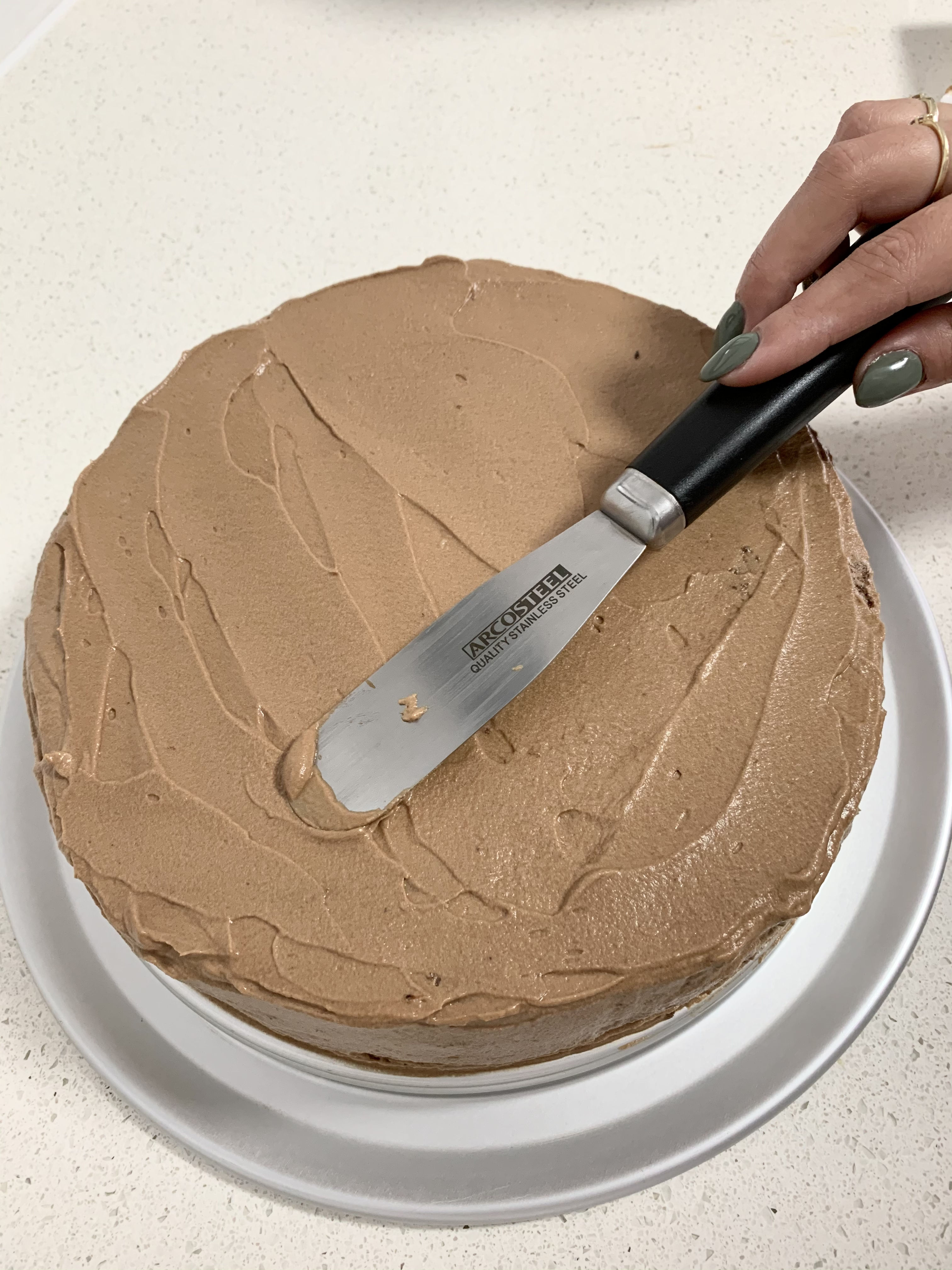 עוגת קסטלה שוקולד קפה | צילום: ספיר דהן