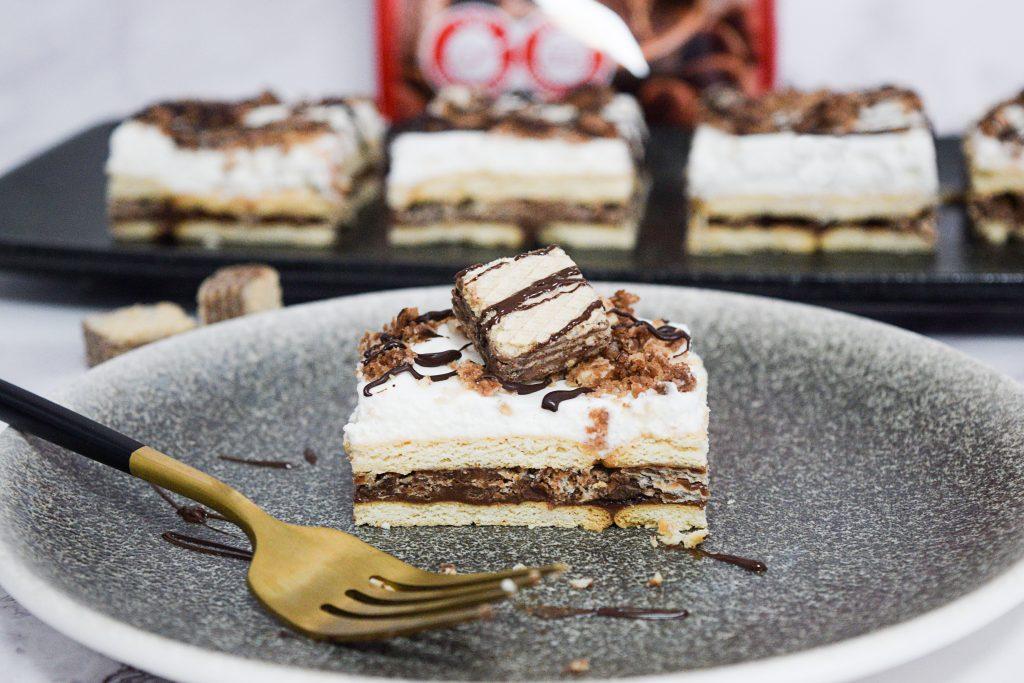 עוגת ביסקוויטים לואקר ונוטלה | צילום: ספיר דהן