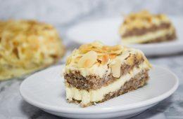 עוגת שקדים שוודית (עוגת איקאה) | צילום: ספיר דהן