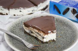 עוגת גבינה אוראו ושוקולד לבן ללא אפייה | צילום: ספיר דהן