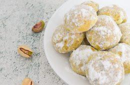 עוגיות פיסטוק   צילום: ספיר דהן