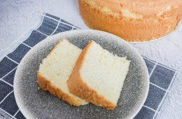 עוגת שיפון וניל   צילום: ספיר דהן