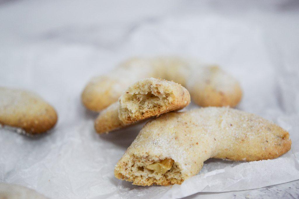 עוגיות סהרוני שקדים (סהרונים) | צילום: ספיר דהן