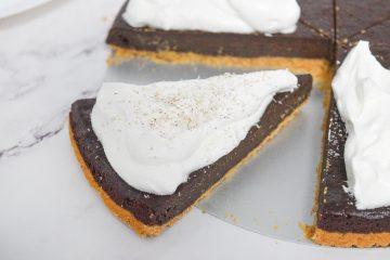 טארט שוקולד אפוי | צילום: ספיר דהן
